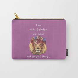 Stardust Lion Carry-All Pouch
