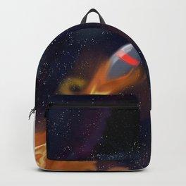 rocket fire Backpack