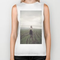 surrealism Biker Tanks featuring surrealism by imperfectionist