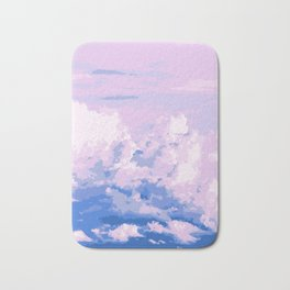 Cotton Candy in Sky Bath Mat