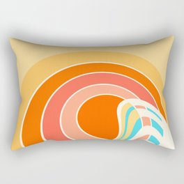 Sun Surf Rectangular Pillow