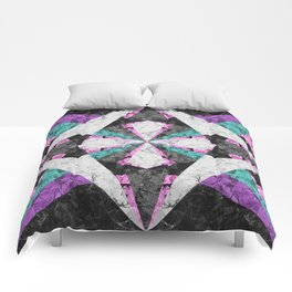 Marble Geometric Background G440 Comforters