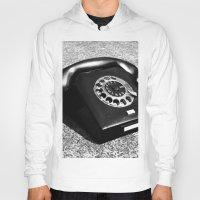 telephone Hoodies featuring telephone by Falko Follert Art-FF77