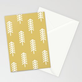 YELLOW ARROWS Stationery Cards