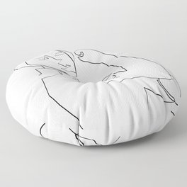 nothing impossible Floor Pillow