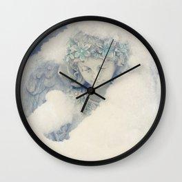 Icy Daydreams Wall Clock