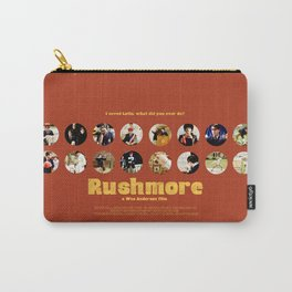 Wes Anderson / Rushmore - The Many Faces of Max Fischer Carry-All Pouch