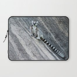 Bright eyes in a black and white world Laptop Sleeve