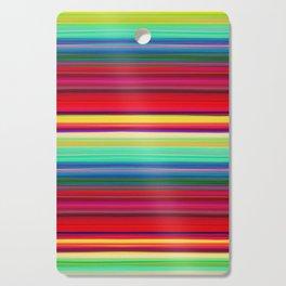 Rainbow Colors Cutting Board