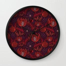 Find a ladybug Wall Clock