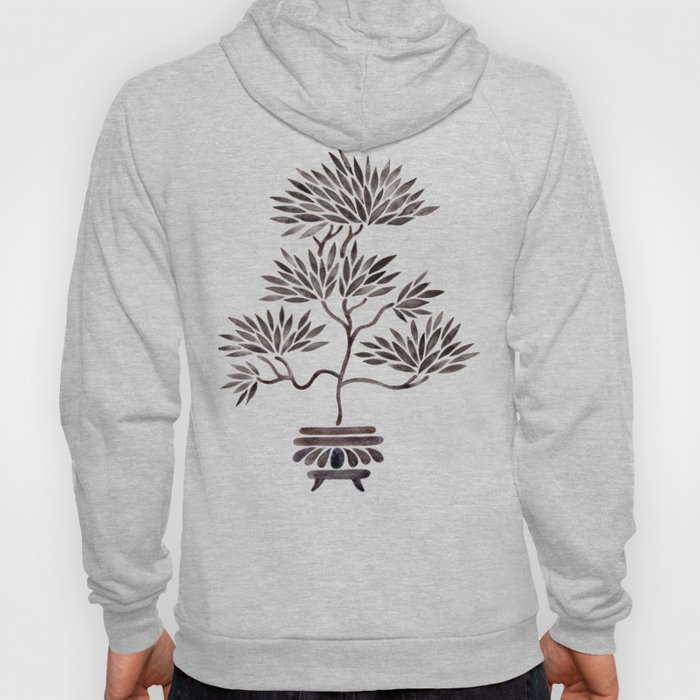 Bonsai Tree – Black Palette Hoody