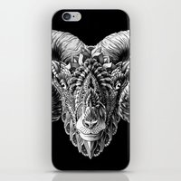 bioworkz iPhone & iPod Skins featuring Ram Head by BIOWORKZ