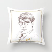 rushmore Throw Pillows featuring Rushmore by Michelle Eatough