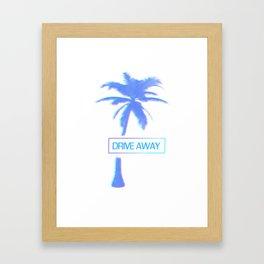 Drive Away 1 Framed Art Print