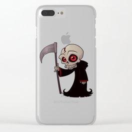 Little Reaper Clear iPhone Case