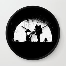 Old Friends {without text}  Wall Clock