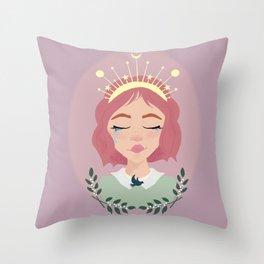 Mother Peace Throw Pillow