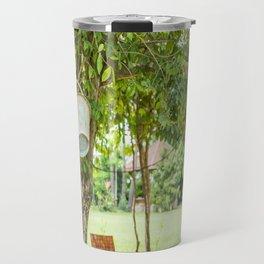 Bucket & Trees, Killing Fields, Cambodia Travel Mug