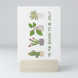 Jolly Plants Mini Art Print