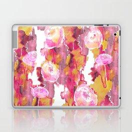 Painterly Flowers Laptop & iPad Skin
