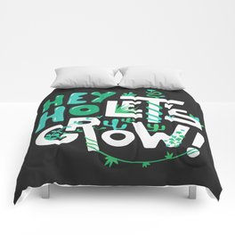Hey ho ! Let's grow ! Comforters