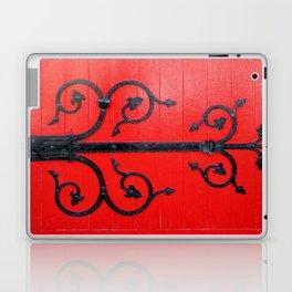 Hinge on a Red Door Laptop & iPad Skin