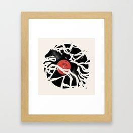 Disc Jockey Framed Art Print