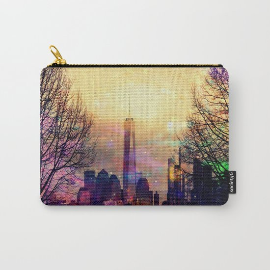 Space Manhattan Carry-All Pouch