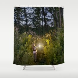 Entering the Forest Shower Curtain