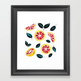 Fruit Crush #society6 #decor #buyart Framed Art Print