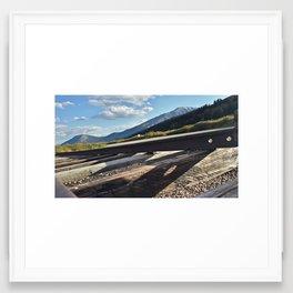 Boreas Pass Framed Art Print