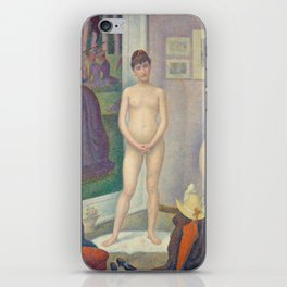 Georges Seurat - Models iPhone Skin