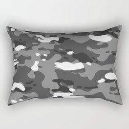 Military Camouflage: Urban II Rectangular Pillow