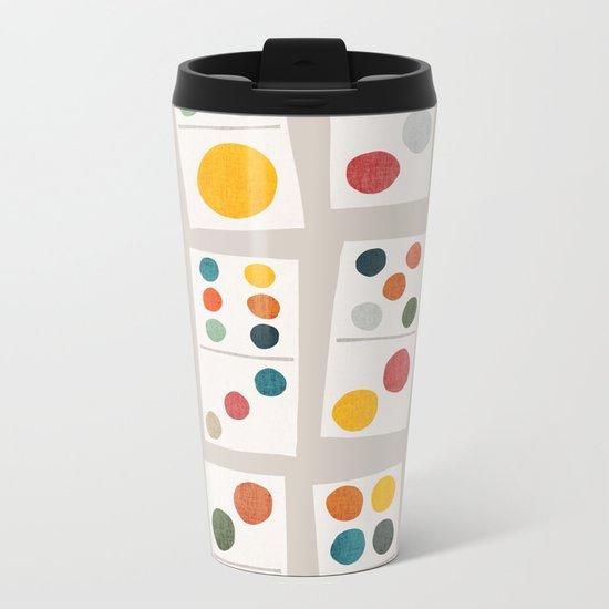 Domino Metal Travel Mug