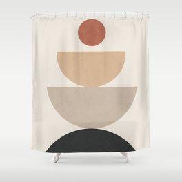 Geometric Modern Art 31 Shower Curtain