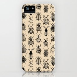 Old-fashioned Bugs iPhone Case