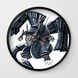 Meta Charizard Wall Clock