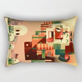 Free Fall Rectangular Pillow