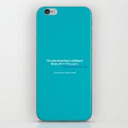 Dickens iPhone Skin
