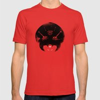 Super Metroid Red SMALL Mens Fitted Tee
