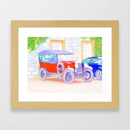 Classic in WaterColor Framed Art Print