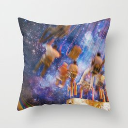 Shakers and Makers Throw Pillow