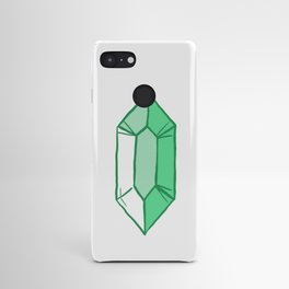 Green Crystal Android Case