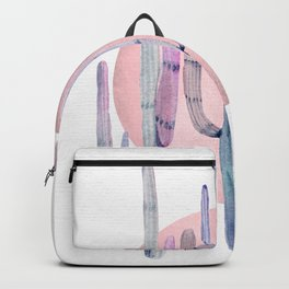 Desert Cactus Sun Rose Gold + Purple by Nature Magick Backpack