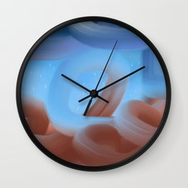 Smoking DNA Wall Clock