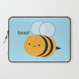 Kawaii Buzzy Bumble Bee Laptop Sleeve