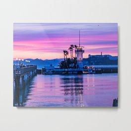 Forbes Island Light House Metal Print
