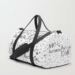 NOT Anti-Social Anti-Idiot Duffle Bag
