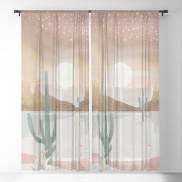 Honey Sky Sheer Curtain