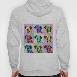 dalmatian dog pop art Hoody